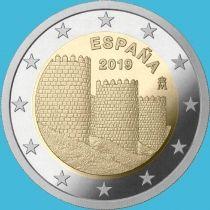 Испания 2 евро 2019 год. Авила