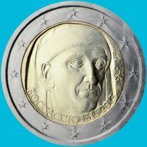 Италия 2 евро 2013 год. Джованни Боккаччо