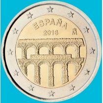 Испания 2 евро 2016 год. Акведук в Сеговии