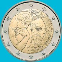 Франция 2 евро 2017 год. 100 лет со дня смерти Огюста Родена