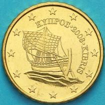 Кипр 10 евроцентов 2008 год.