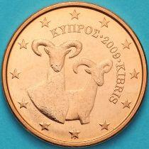 Кипр 5 евроцентов 2009 год.