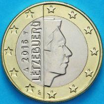 Люксембург 1 евро 2016 год.