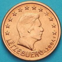 Люксембург 2 евроцента 2004 год.