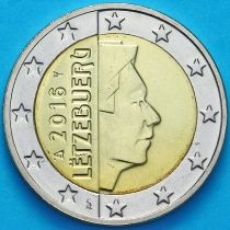 Люксембург 2 евро 2016 год.