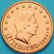 Люксембург 5 евроцентов 2004 год.