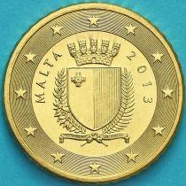 Мальта 50 евроцентов 2013 год.