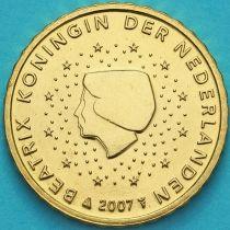 Нидерланды 10 евроцентов 2007 год. (тип 1)