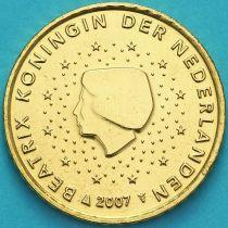 Нидерланды 50 евроцентов 2007 год. (тип 1)