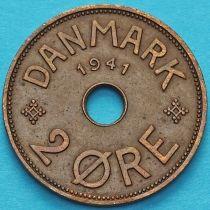 Фарерские острова 2 эре 1941 год. №2