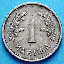Финляндия 1 марка 1928-1940 год.