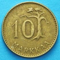 Финляндия 10 марок 1952-1953 год.