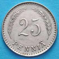 Финляндия 25 пенни 1921 год.