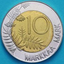 Финляндия 10 марок 1997 год.