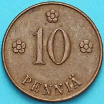 Финляндия 10 пенни 1920 год.