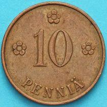 Финляндия 10 пенни 1929 год.
