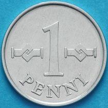 Финляндия 1 пенни 1979 год.