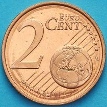 Финляндия 2 евроцента 2004 год. М