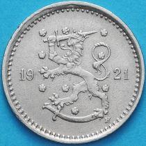 Финляндия 50 пенни 1921 год. Н