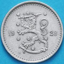 Финляндия 50 пенни 1923 год. S