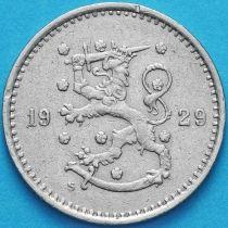 Финляндия 50 пенни 1929 год. S
