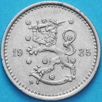 Финляндия 50 пенни 1935 год. S