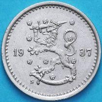 Финляндия 50 пенни 1937 год. S