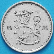 Финляндия 50 пенни 1939 год. S