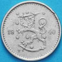 Финляндия 50 пенни 1940 год. S