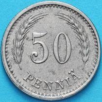 Финляндия 50 пенни 1943 год. S
