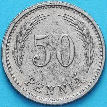 Финляндия 50 пенни 1947 год. S