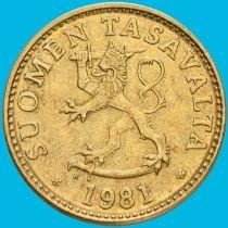 Финляндия 20 пенни 1963-1990 год.