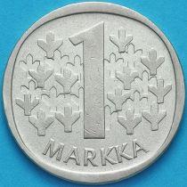 Финляндия 1 марка 1964 год. Серебро.