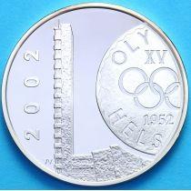 Финляндия 10 евро 2002 г. 50 лет Олимпиаде в Хельсинки. Серебро