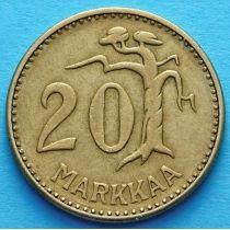 Финляндия 20 марок 1954 год.