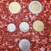 Финляндия набор 6 монет в буклете 1999 год.