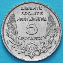 Франция 5 франков 1933 год. KM# 887.