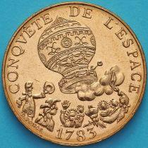Франция 10 франков 1983 год. Воздушный шар. UNC.
