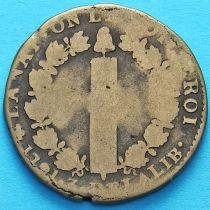 Франция 12 денье 1791 год. А