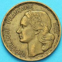 Франция 20 франков 1950 год. Подпись в две строки.