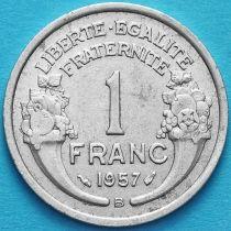 Франция 1 франк 1946-1957 год. Бомон-ле-Роже.