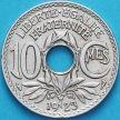 Монета Франция 10 сантимов 1923 год.