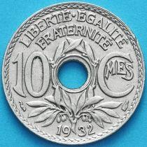 Франция 10 сантимов 1932 год.