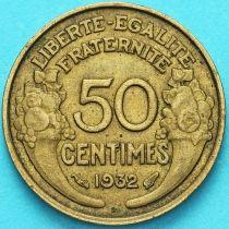 Франция 50 сантимов 1932 год.
