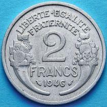 Франция 2 франка 1946 год.