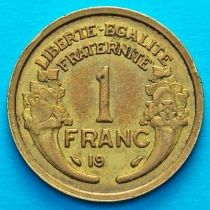 Франция 1 франк 1931 год.