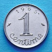 Франция 1 сантим 1962-1970 год.