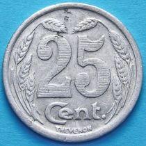Франция 25 сантимов 1921 год. Токен города Эврё.