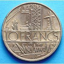 Франция 10 франков 1974-1987 год.