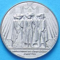 Франция 1 франк 1989 год. 200 лет устранения Генеральных  штатов.